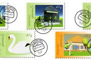 Umwelt-Sonderbriefmarken für Grünstedt